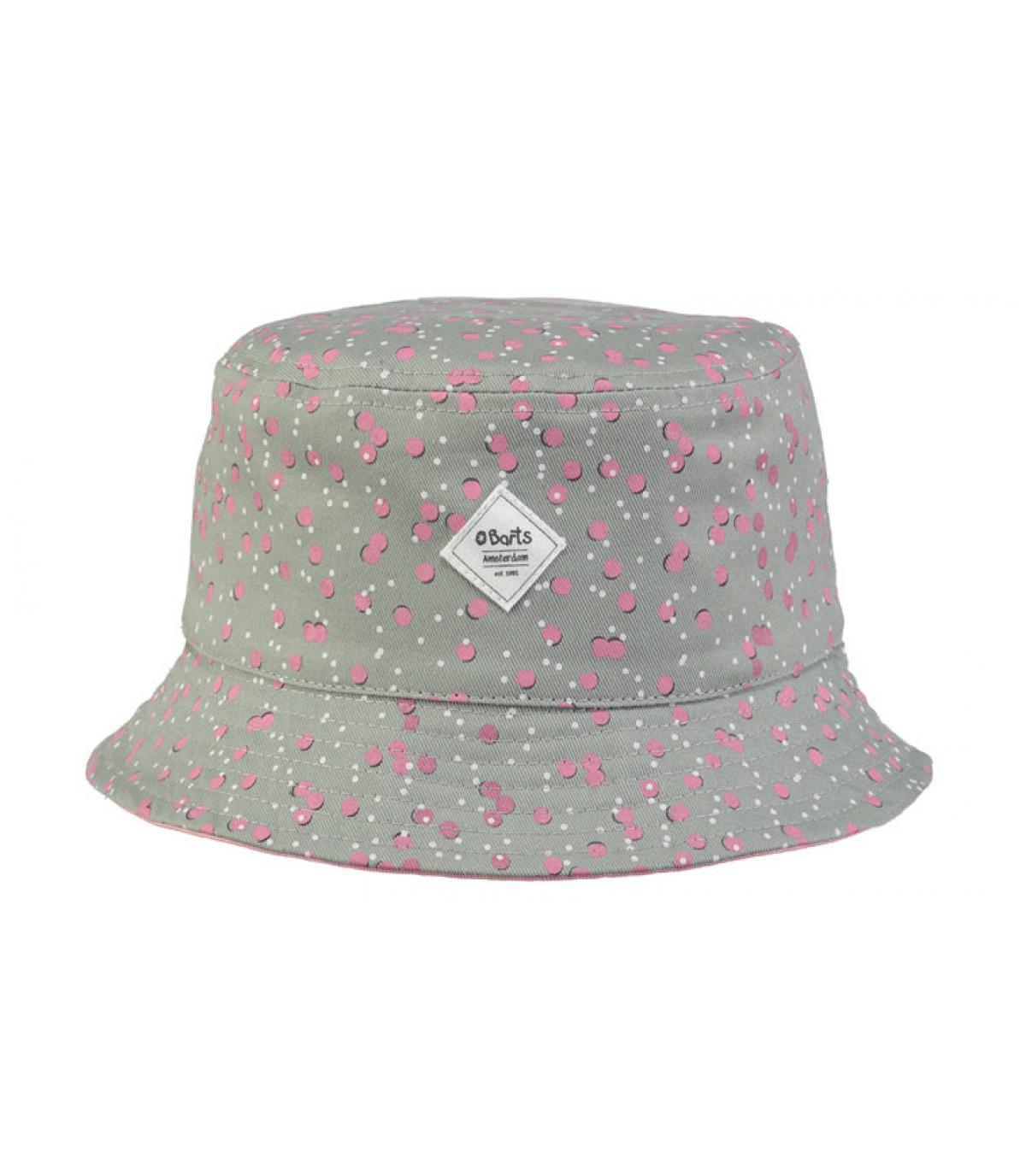 b1e8b32b670 grey pink bucket hat kids - Antiga Hat Kids dark celadon by Barts ...